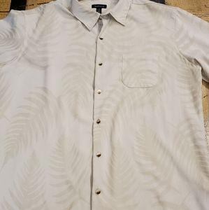 🤴👔🌿 Van Heusen Dress Shirt L 16 - 16 1/2